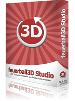 New: feuerball3D Studio available as from January 2014